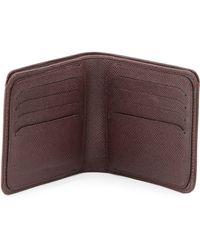 Dunhill - Bourdon Bifold Wallet Red Oxblood - Lyst