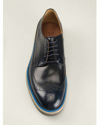 Paul Smith Brogue Derby Shoes - Lyst