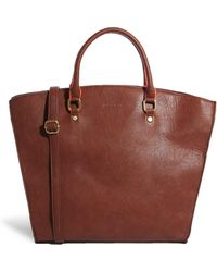 Pull&Bear Handheld Shopper Bag with Contrast Handles - Lyst