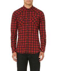 Diesel Red S-niral Shirt - Lyst