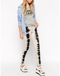 Wildfox - Marissa Turn Up Distressed Jeans - Lyst