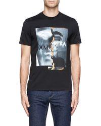 Givenchy 'Amerika' Print T-Shirt - Lyst