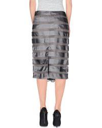 Carlo Pignatelli - 3/4 Length Skirt - Lyst