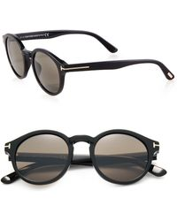 Tom Ford | Round 49mm Sunglasses | Lyst