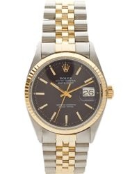 CMT Fine Watch And Jewelry Advisors - 1969 Rolex Tt Datejust 1601 - Lyst