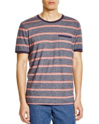 Outerknown   Intervals Striped Pocket Tee   Lyst
