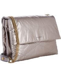 Lanvin Quilted Sugar Shoulder Bag - Lyst
