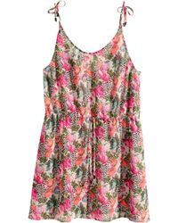 H&M Beach Dress - Lyst