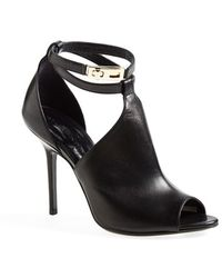 Burberry 'Consett' Ankle Strap Bootie - Lyst