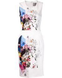 Preen By Thornton Bregazzi Issy Dress white - Lyst