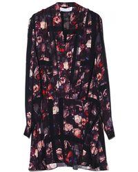 Thakoon Addition - Long Sleeve Shawl Collar Dress - Lyst