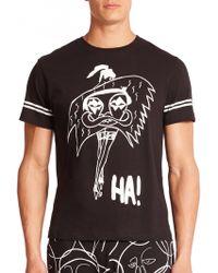 Haculla La Femme Cotton T-Shirt black - Lyst