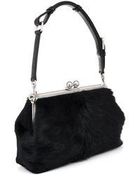 Dolce & Gabbana Agata Calfhair Shoulder Bag - Lyst