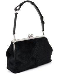 Dolce & Gabbana Agata Calf-Hair Shoulder Bag - Lyst
