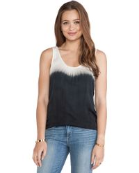 Kain Black Rowe Top - Lyst