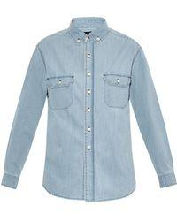 3x1 Denim Boyfriend Shirt - Lyst