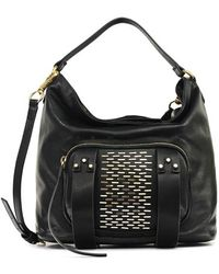 35df49587b She + Lo -  next Chapter  Studded Hobo Bag - Lyst