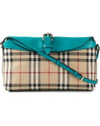 Burberry Horseferry-Check Cross-Body Bag - Lyst