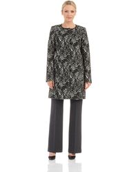 T Tahari Bally Walker Coat - Lyst