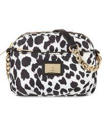 Juicy Couture Leopard Print Mini Camera Bag Blkwht Leopard - Lyst