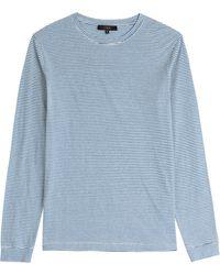 IRO Striped Cotton Top - Lyst