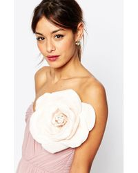 ASOS - Oversize Blush Rose Hair And Body Corsage - Lyst