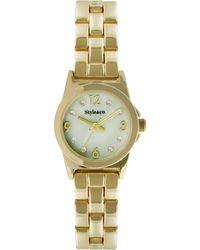 Style & Co. - Style&co. Women's Gold-tone Bracelet Watch 22mm 10026572 - Lyst