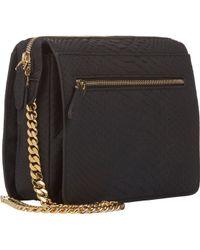 Zagliani Python Liberty Shoulder Bag - Lyst