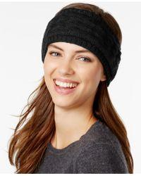 Echo - Braid Stitch Headband - Lyst