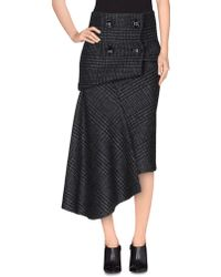 Pedro Del Hierro Madrid - 3/4 Length Skirt - Lyst