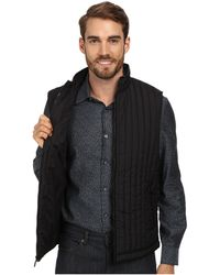 Perry Ellis Quilted Nylon Vest - Lyst