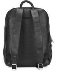 Marc By Marc Jacobs - Black Grained Leather Backpack - Lyst