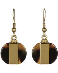 Hobbs Gold Karen Earrings - Lyst