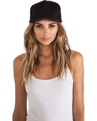 Cast Of Vices - Leather Hat - Lyst