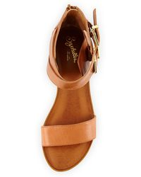 Seychelles Pardon My French Buckled City Sandal - Lyst