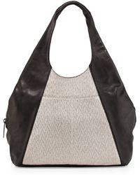 L.A.M.B. Gabe Leather Tote Bag black - Lyst