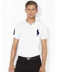 Polo Ralph Lauren Custom Fit Big Pony Polo - Lyst