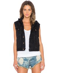 Bliss and Mischief - Tia Hooded Vest - Lyst