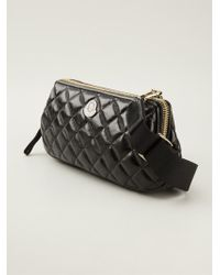 Moncler Elianne Quilted Clutch Bag - Lyst