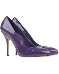 Gucci Purple Court - Lyst