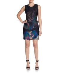 Cynthia Rowley Seamed-waist Dress - Lyst