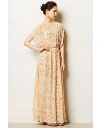 Paper Crown - Peach Blossom Maxi Dress - Lyst