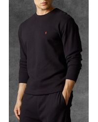 Polo Ralph Lauren Thermal Crewneck Lounge Shirt - Lyst