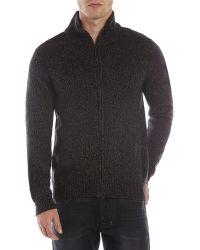 DKNY Full-Zzip Sweater - Lyst