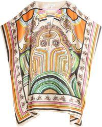Paul & Joe Silk Kaftan multicolor - Lyst