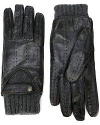 Christophe Fenwick - Panelled Gloves - Lyst
