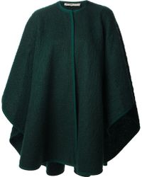 Yves Saint Laurent Vintage Blanket Coat - Lyst