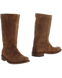 Fiorentini + Baker Brown Boots - Lyst
