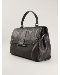 Claudio Orciani | Studded Fold Over Top Tote Bag | Lyst