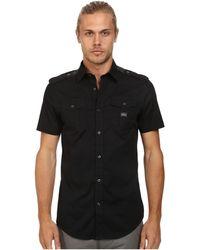 Diesel S-Koir-Short Shirt black - Lyst